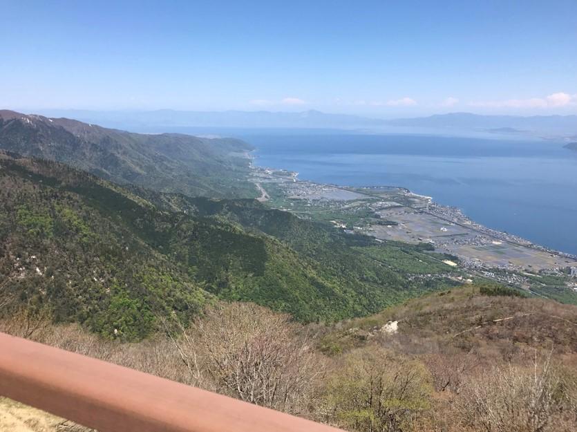 びわ湖テラス景色