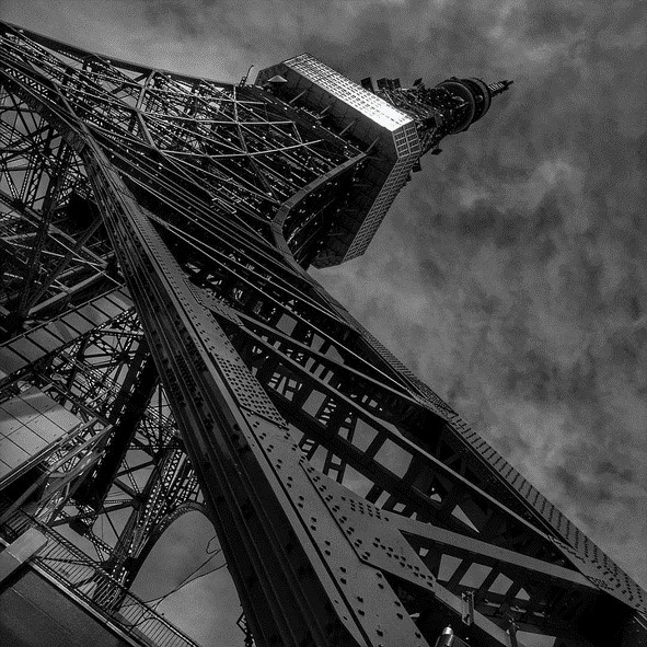 昔の東京タワー