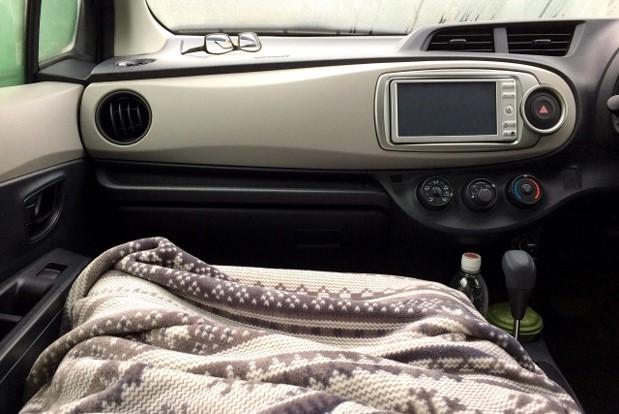 車内テレワーク 注意点
